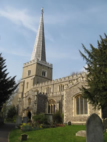 Buildings In Harrow - St Marys Parish Church